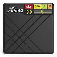 Android Smart TV приставка SKY (X96M) 4/64 GB