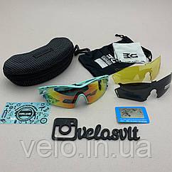 Сонцезахисні UV400 спортивні окуляри зі змінними лінзами