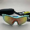 Сонцезахисні UV400 спортивні окуляри зі змінними лінзами, фото 4