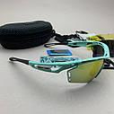 Солнцезащитные UV400 спортивные очки со сменными линзами, фото 3