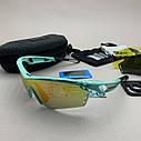Солнцезащитные UV400 спортивные очки со сменными линзами, фото 5