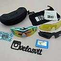 Солнцезащитные UV400 спортивные очки со сменными линзами, фото 7