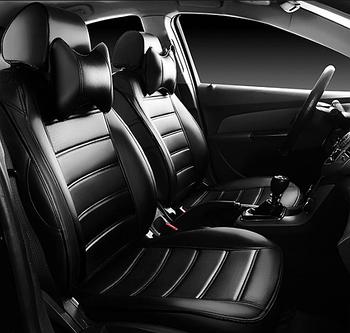 Чехлы на сиденья Тойота Авенсис (Toyota Avensis) (модельные, НЕО Х, отдельный подголовник)