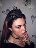 Діадема з чорним камінням, фото 5