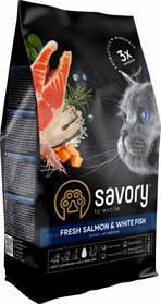 SavoryAdult Cat Gourmand Fresh Salmon & White Fish0,4kg