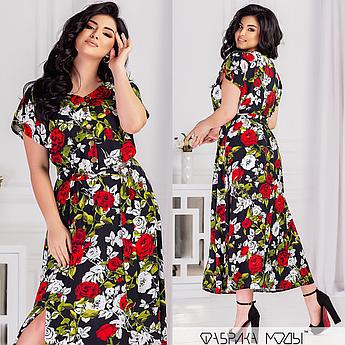 Легке плаття міді в квітка