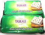 Тахиновая халва з цільним горіхом фісташки, Туреччина , вага 500 гр, турецькі солодощі, фото 3