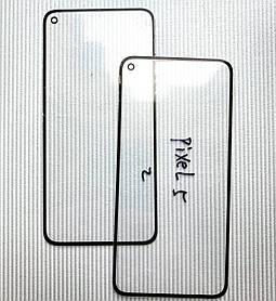 Стекло корпуса для Pixel 5 черное