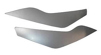 Вії на фари Ford Focus II+ 2008-2010 (срібло) SPIRIT