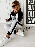 Женский спортивный костюм серый SKL11-289455