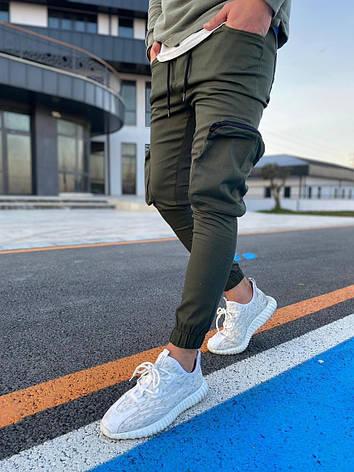 Брюки  карго мужские штаны Marco Хаки Спортивные Под рубашку Футболку Свитшот На резинке внизу Для мужчин, фото 2