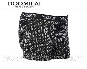 Чоловічі труси-боксери Doomilai бавовна c бамбуком, розміри XL-4XL, 01299