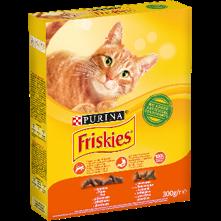 Friskies 0,3кг курица/овощи