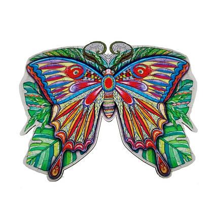 Дерев'яний пазл Метелик, фото 2