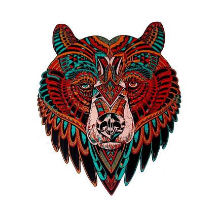 Деревянный пазл Медведь, фото 2