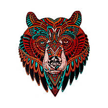 Деревянный пазл Медведь