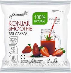 Десерт  Ширатаки без сахара Konjak Smoothie КЛУБНИЧНЫЙ (15 грамм)