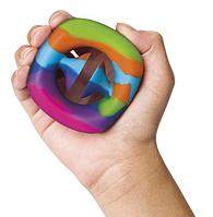 Игрушка-антистресс Снаперс Pop It радужный (пупырка, пузырьки, сенсорная игрушка, бесконечная пупырка)