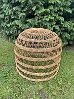 Плетёный абажур ручной работы из лозы для ресторанов
