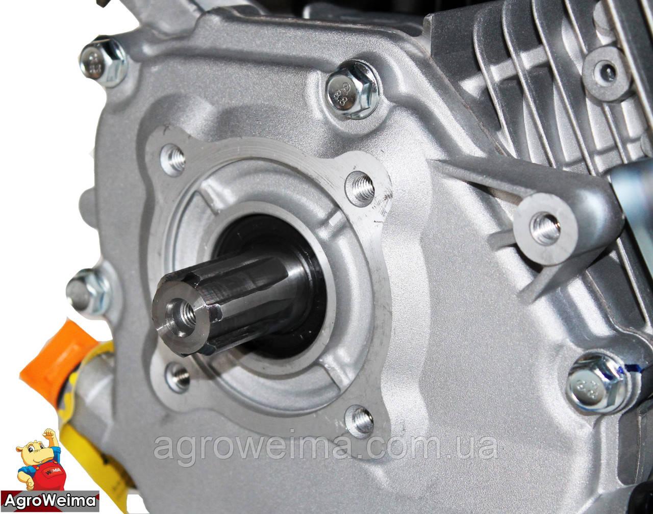 Бензиновый двигатель (под шлицы)GW230F-T 25