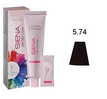 """5/74 Професійна крем-фарба для волосся jNOWA Professional """"SIENA"""" CHROMATIC SAVE 90 мл"""