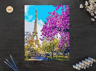 "Картина по номерам ""Цветущий Париж"" 40х50 см"