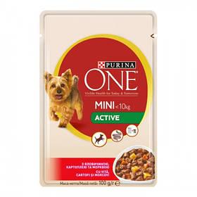 One Mini для собак яловичина/картопля 100гр