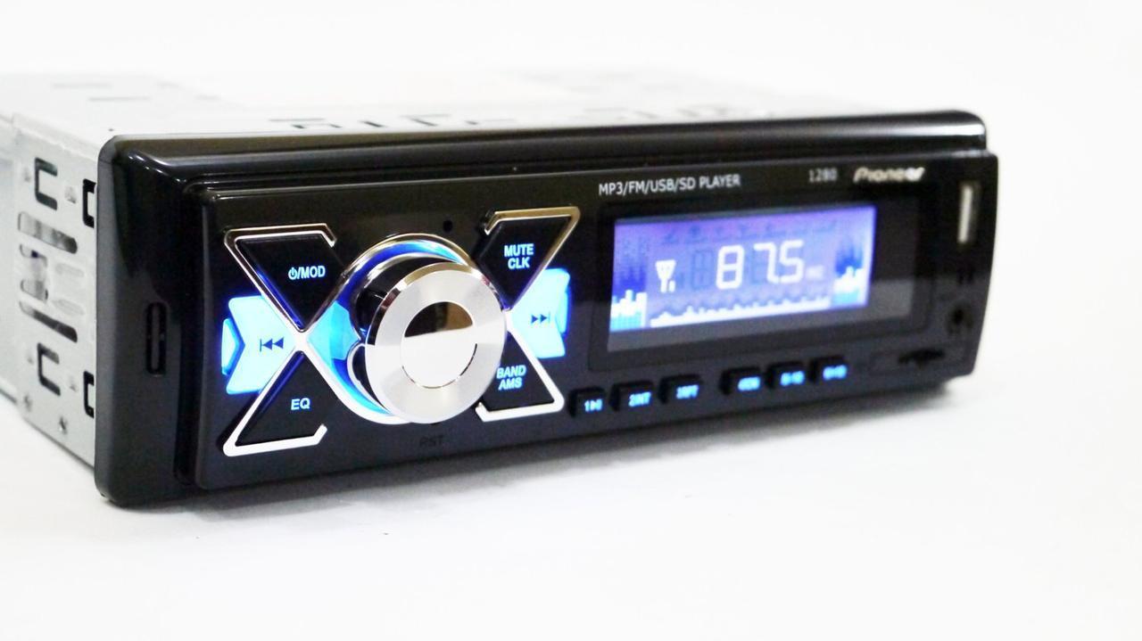 Автомагнитола Pioneer 1280 ISO - MP3+FM+USB