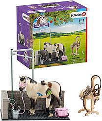 Ігровий набір Місце для миття коней Schleich 42104