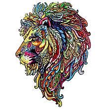 Деревянный пазл Волшебный лев
