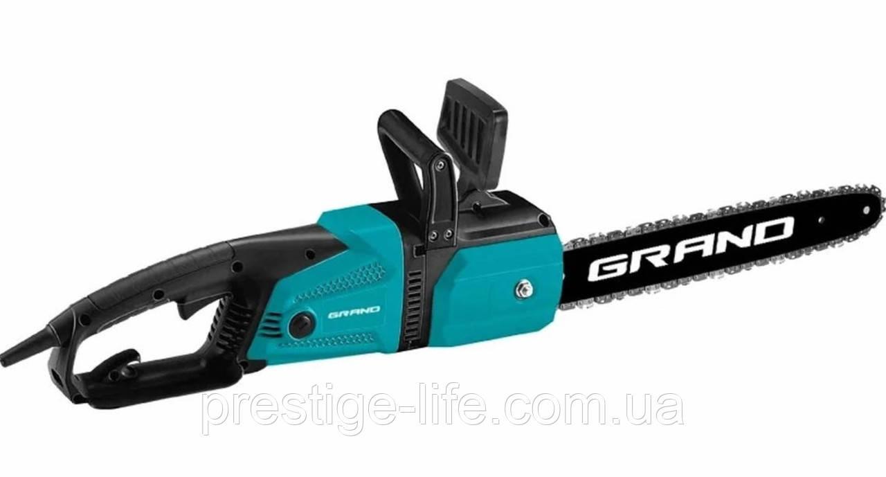 Пила ланцюгова GRAND ПЦ-2800 електрична 2800 Вт