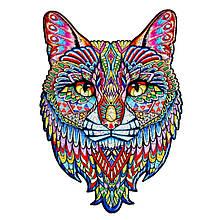 Дерев'яний пазл Кіт