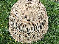 Светильник плетёный из лозы ручной работы