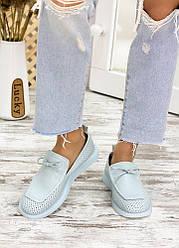 Туфлі лофери шкіряні 7712-28