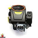 Двигун GW-1P90FE, вертикальний вал, шпонка, електростартер., фото 9
