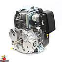 Двигун GW-1P90FE, вертикальний вал, шпонка, електростартер., фото 8