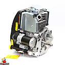 Двигун GW-1P90FE, вертикальний вал, шпонка, електростартер., фото 10