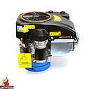 Двигун GW-1P90FE, вертикальний вал, шпонка, електростартер., фото 3