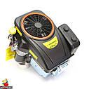 Двигун GW-1P90FE, вертикальний вал, шпонка, електростартер., фото 2