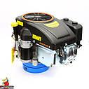 Двигун GW-1P90FE, вертикальний вал, шпонка, електростартер., фото 7