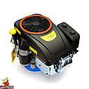 Двигун GW-1P90FE, вертикальний вал, шпонка, електростартер., фото 6