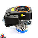 Двигун GW-1P90FE, вертикальний вал, шпонка, електростартер., фото 5
