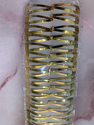 Шпилька фліп-флоп золото