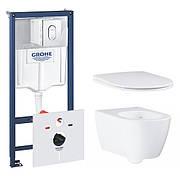 Комплект інсталяції Grohe Rapid SL з унітазом Essence 39571CB0