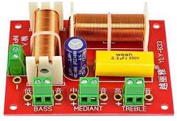 Кроссовер фильтр 3х-полосный для акустики YLY-633 200Вт