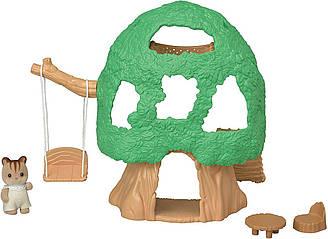 Сильваниан фэмилис Будиночок на дереві і фігурка горіховою білочки Sylvanian Families Calico Critters