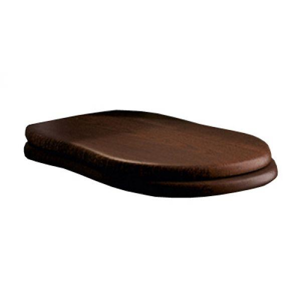 Крышка для унитаза Flaminia EFI Soft-closing Wood, петли- хром, дерево (23NCR)