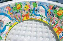 """Дитячий надувний круглий басейн Intex """"Акваріум"""" 58480 для дому і дачі для дітей 152х56см, фото 5"""