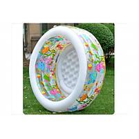"""Дитячий надувний круглий басейн Intex """"Акваріум"""" 58480 для дому і дачі для дітей 152х56см, фото 3"""