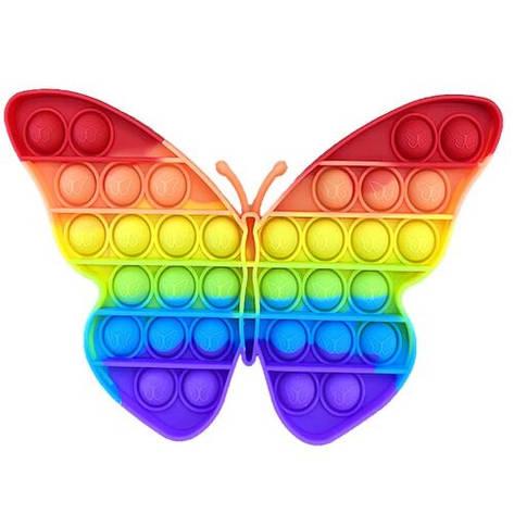 Поп іт оптом райдужний метелик хорошої якості, фото 2